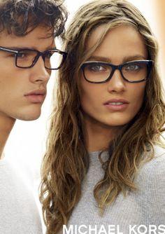 Michael Kors glasses I just got the ones she is wearing!!! Love me my Michael Kors!
