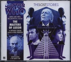 Dr Doctor Who The Lost Stories The Masters of Luxor Audio CD Mint Big Finish   eBay