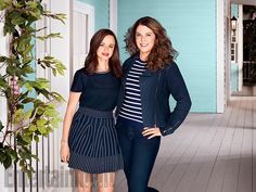 Gilmore Girls Entertainment Weekly April 2016 - Lorelai Rory