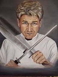 Image result for gordon ramsay painting