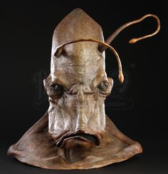 MEN IN BLACK II (2002) - Brown Alien Mask - Price Estimate: $1000 - $1500