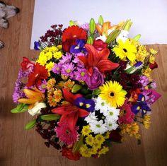 Ramo de flores variadas multicolor #regalaflores
