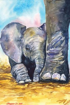 Love Painting, Painting & Drawing, Painting Prints, Painting Tips, Art Abstrait, Wildlife Art, Love Art, Animal Drawings, Painting Inspiration