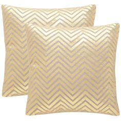 Shop for Safavieh Elle 18-Inch Gold Decorative Throw Pillow (Set of 2). Get free shipping at Overstock.com - Your Online Home Decor Outlet Store! Get 5% in rewards with Club O!