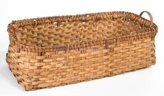 SOUTHERN WOVEN-SPLINT HERB-DRYING BASKET