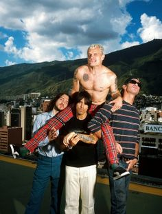 Red Hot Chili Peppers. love them so muchh