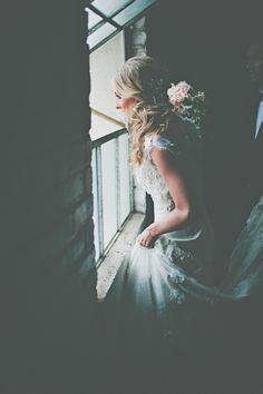 Handmade Industrial Wedding #bride