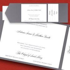 Invitations : Pockets > Weddings   143rd Street Creations