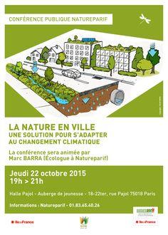 Affiche conférence Natureparif