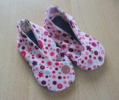 Kimono-Schuhe   Erstlingswerke