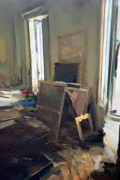 "Saatchi Art Artist Carlos San Millan; Painting, ""Interior #132"" #art"