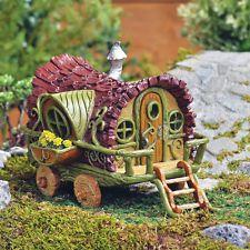 Miniature Fairy Garden House FIDDLEHEAD GYPSY WAGON (NIB)