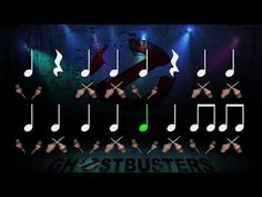 Ritmograma: Ghostbusters (Els Caçafantasmes) - YouTube Teacher Cart, Music Ed, Elementary Music, Music Lessons, Ghostbusters, Holidays And Events, Songs, How To Plan, Youtube