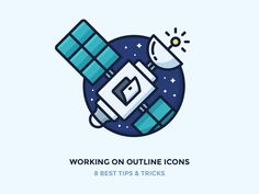 Hey guys! Hope your first autumn weekend was great!  So if you follow my work or at least read my blog from time to time you may know I love outline icons. I practice them daily and improve my skil...