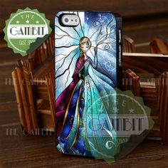 Anna and Elsa Two Face - iPhone 4/4s/5/5S/5C Case - Samsung Galaxy S2/S3/S4 Case - Black or White by XGAMBITX on Etsy