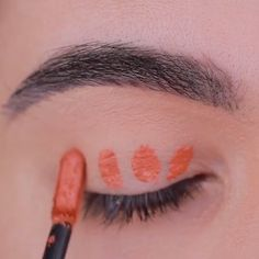 "Orange vibez by History of eye makeup ""Eye care"", in other words, ""eye make-up"" Makeup Goals, Makeup Inspo, Makeup Art, Makeup Inspiration, Edgy Makeup, Formal Makeup, Makeup Eye Looks, Pretty Makeup, Face Makeup"