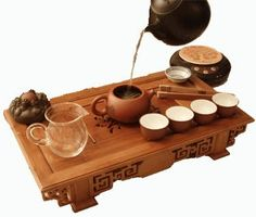 ceremonial tea set.