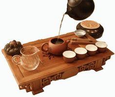 ceremonial tea set.