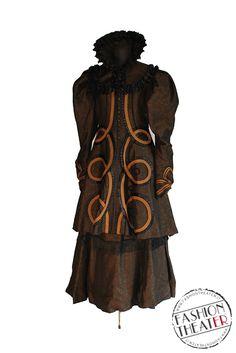 Cesca, personaggio di Gianni Schicchi (#Puccini), costume di Gianluca Falaschi per Teatro Comunale di Modena