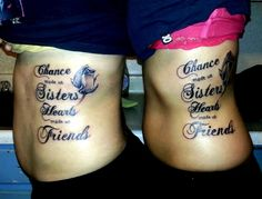 Our sister tattoo