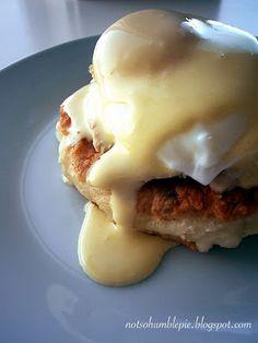 Not So Humble Pie: Thanksgiving Leftovers: Turkey Eggs Benedict