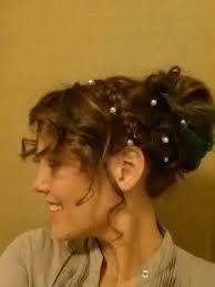 Kiera Knightleys Hair At The Netherfield Ball When She