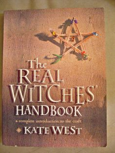 The Real Witches Handbook by Kate West, starting at $6 in today's Metaphysical & New Age auction happening now.http://tophatter.com/lots/340189?campaign=pinterest-share=36899