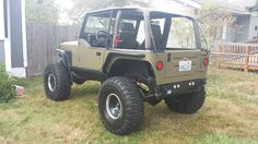 wrangler on 37 - Bing images Cheap Jeeps, Cool Jeeps, Jeep Wrangler Forum, Green Jeep, Badass Jeep, Jeep Cj7, Custom Jeep, All Cars, Jeep Life
