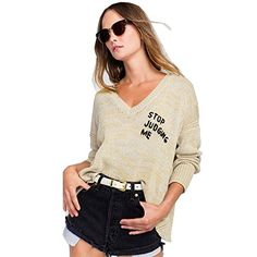 Womens Ladies Oversized Baggy Long Thick Knitted Plain Chunky Top Knit Jumper XS-XXL   #FreedomOfArt  Join us, SUBMIT your Arts and start your Arts Store   https://playthemove.com/SignUp