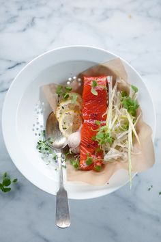 Wild salmon via Cannelle et Vanille #WOWfoodanddrink