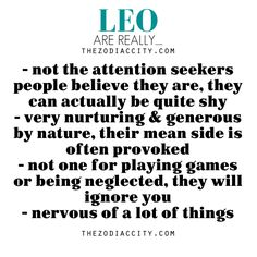 Leo ZodiacCity - The Source Of Zodiac Facts