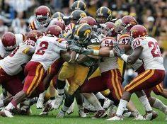 How many cyclones does it take to tackle Shonn Greene?
