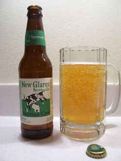 Spotted Cow, only available in Wisconsin
