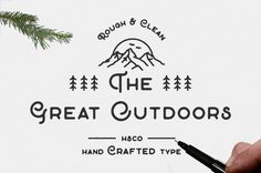 The Great Outdoors (Intro Rate) by Hustle Supply Co. on @creativemarket