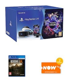 PSVR Starter Pack with Resident Evil VR and NOW TV for 259.99 HP and MSI Gaming Laptops on Sale Gaming