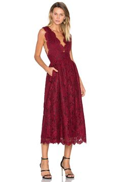 d410fe9a7fc0 Shop for X by NBD Adalynn Dress in Bordeaux at REVOLVE. Free day shipping  and returns