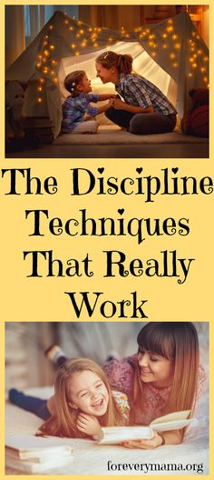 Here are some discipline techniques that really work to help your children process their emotions and take responsibility for their actions...