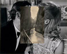Photo Collage by John Stezaker #photo #collage #art