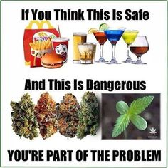 If you think this is safe then you're part of the problem #cannabisculture…