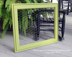 """Goodwill """"Hunting""""... { A Repurposed Frame } - Uncommon Designs..."""