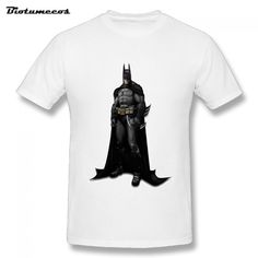 S-3XL Men T shirt Batman Heavily Armed With Black Capes Stand Tee Adult Cotton Tees Shirt For Men Tops Clothing   MTDM063 #Affiliate
