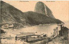 Rio praia vermelha 1918