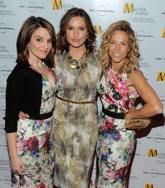 Mariska Hargitay and Tina Fey - New York Women In Communications Presents The 2010 Matrix Awards