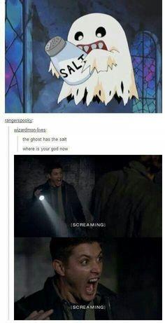 Salt them dean...