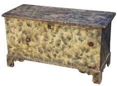 Pennslyvania smoked decorated Blanket Chest