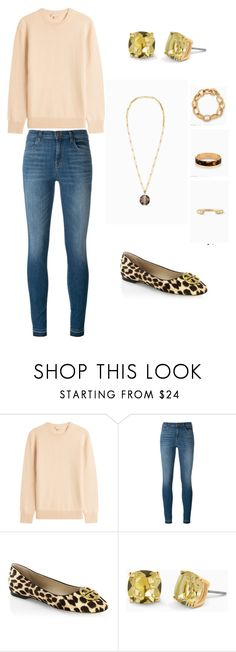 """Fall Leisure Look"" by trulaannestyle on Polyvore featuring Michael Kors, J Brand, Tory Burch and Stella & Dot"