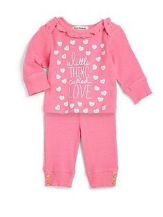 Juicy Couture - Infant s Two-Piece Loungewear Set a25b9a4daad