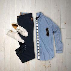 """1,140 Me gusta, 6 comentarios - VoTrends® Men's Fashion (@votrends) en Instagram: """"Monday's best by: @hunter_vought ✌"""""""