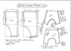 Diy Crafts - Sewing instructions Baby trousers Puppenhose LUCA Gr 42 62 Sewing patterns and sewing inst - Her Crochet Baby Clothes Patterns, Sewing Patterns For Kids, Sewing For Kids, Baby Sewing, Baby Patterns, Harem Pants Pattern, Baby Harem Pants, Kids Pants, Kids Outfits