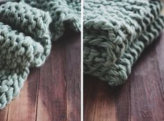 A Space Reinvented // The Simple Thick-Knit Throw » Oh, Hera.